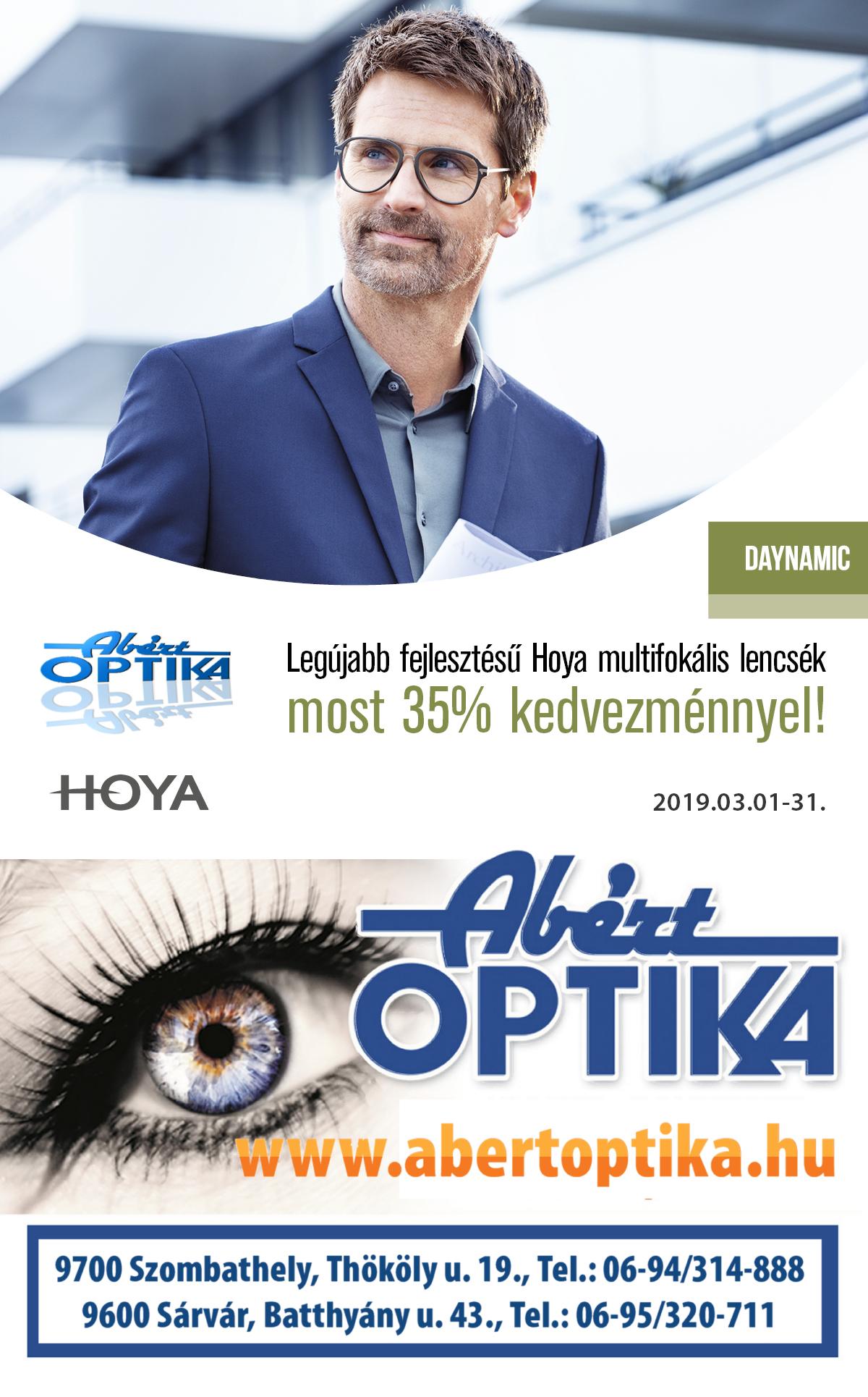 Hoya legújabb fejlesztésű multifokális lencséi 35% kedvezménnyel b11f650590